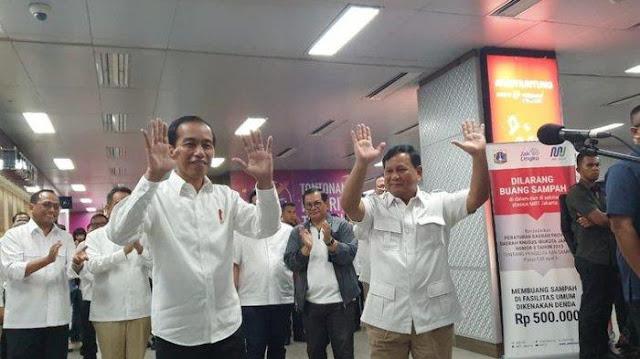 Sinyal Jokowi, Tolak Bergabungnya Koalisi Prabowo ke Pemerintah?
