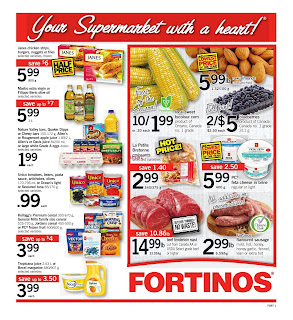 Fortinos Flyer July 20 – 26, 2017