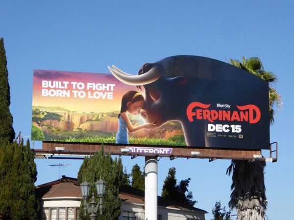 Ferdinand extension cut-out billboard
