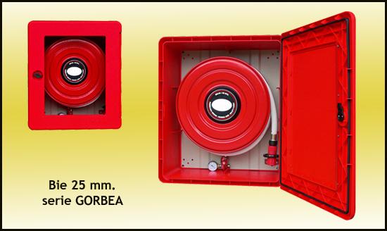 BIE 25 mm, boca de incendios GORBEA