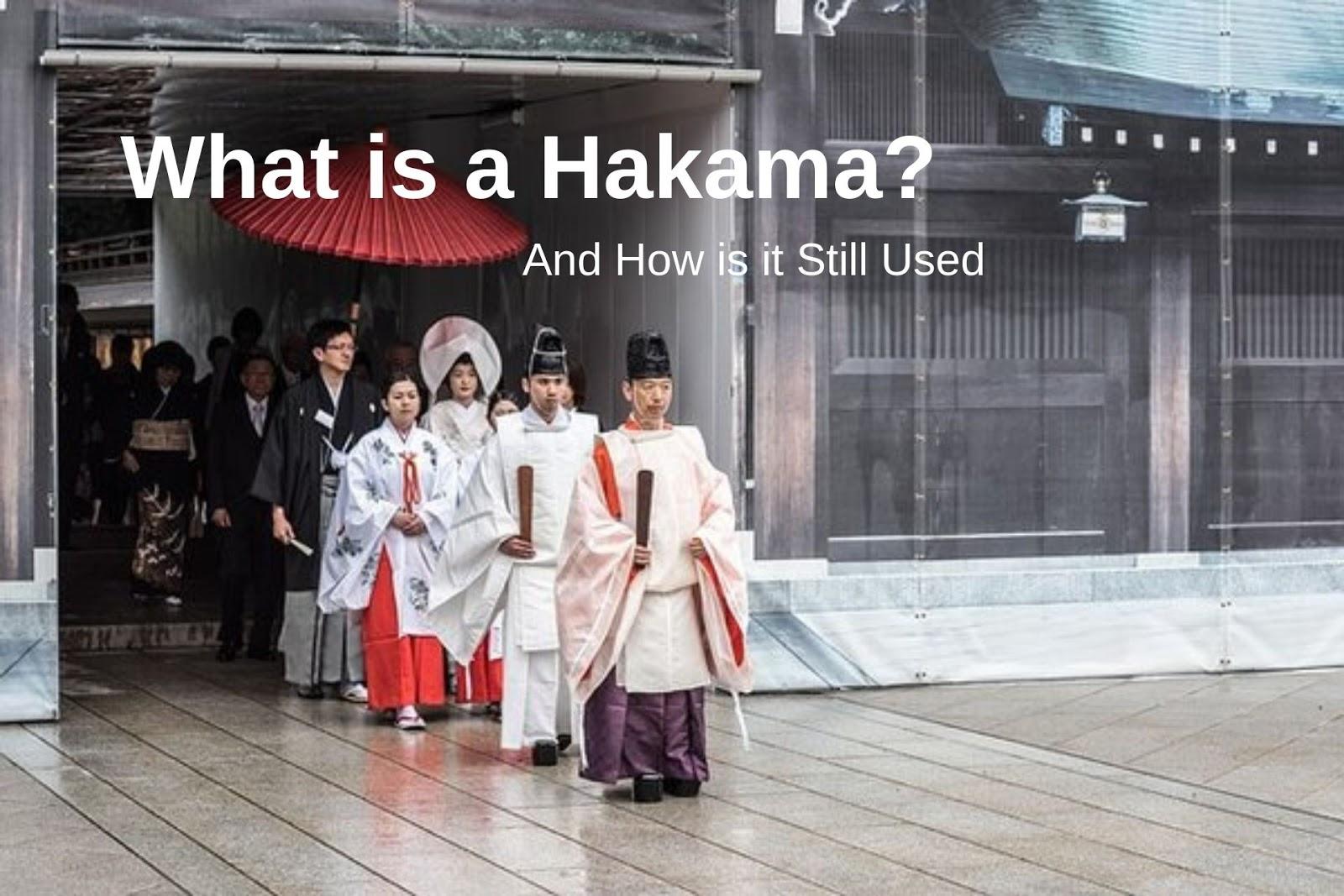 Hakamas at a Japanese wedding