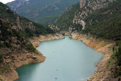 Noguera Pallaresa desde el mirador del Congost del Mont-Rebei