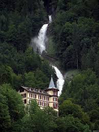Grandhotel Giessbach, водопад Гиссбах