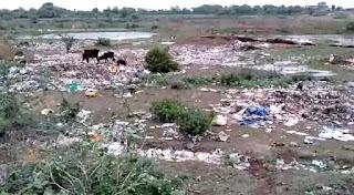स्वच्छ भारत अभियान को ठेंगा दिखाती पंचायत