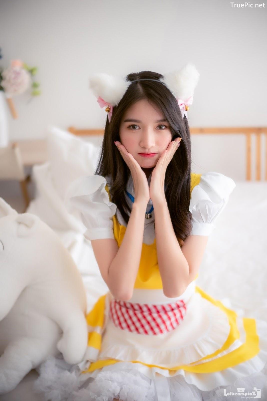 Image Thailand Model - Yatawee Limsiripothong - Cute Maid - TruePic.net - Picture-8