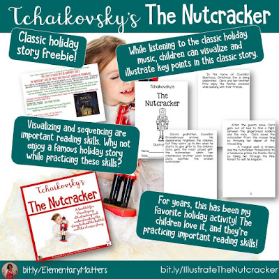 https://www.teacherspayteachers.com/Product/The-Nutcracker-Story-for-Visualization-Summarizing-and-Illustration-170834