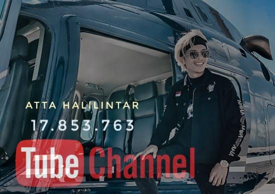 Jumlah Subscribe channel Atta Halilintar 17.853.763