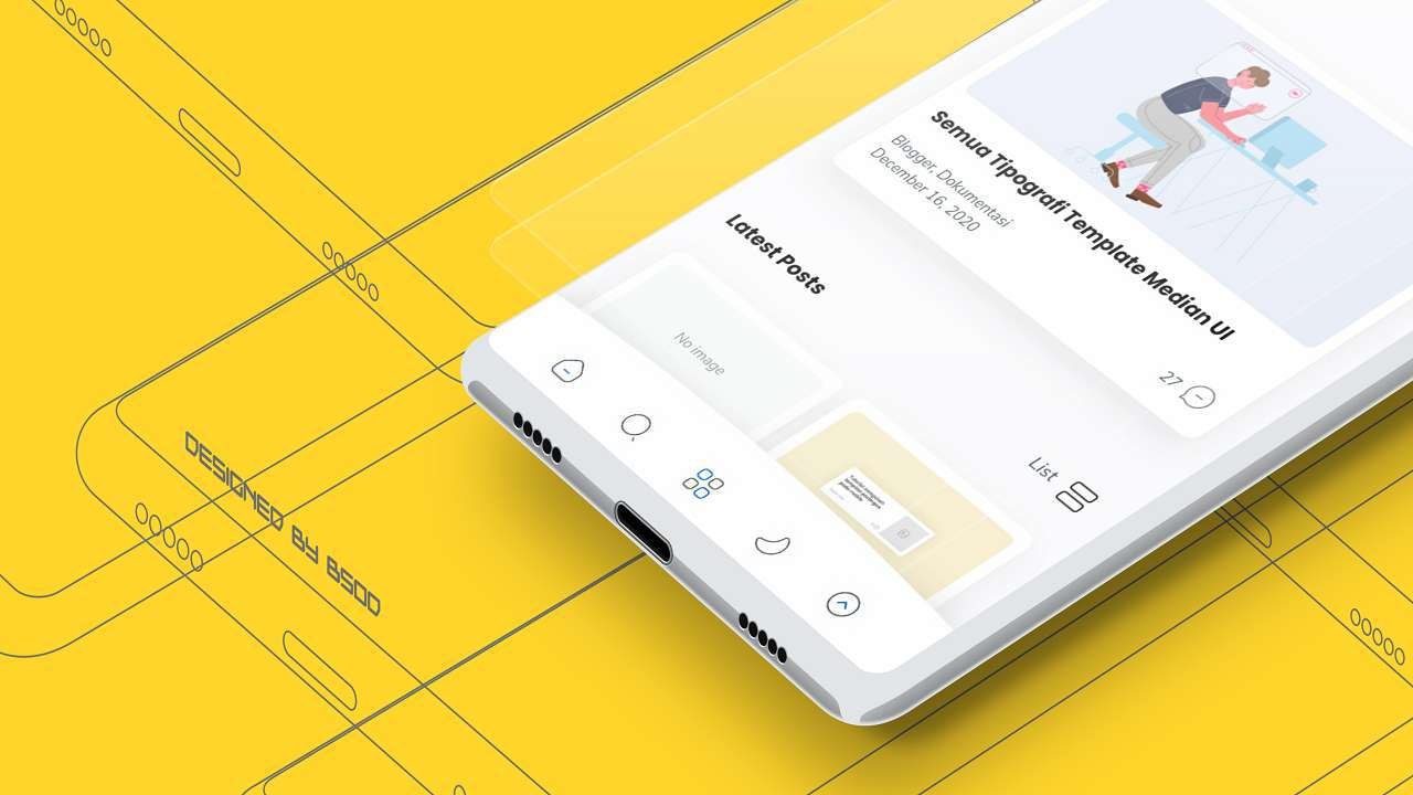 Download Template Median UI Free