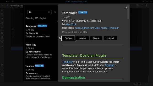 Install Templater 4