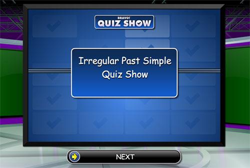 Trivial para reconocer las formas correctas de los verbos irregulares en pasado en inglés