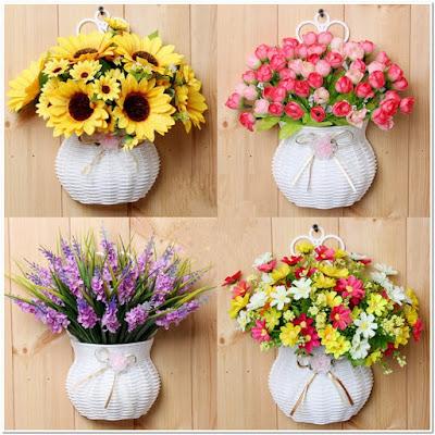 Bunga Plastik Untuk Pot
