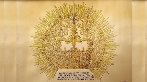 La Palma de Cádiz presentará la corona de coronación el 14 de agosto
