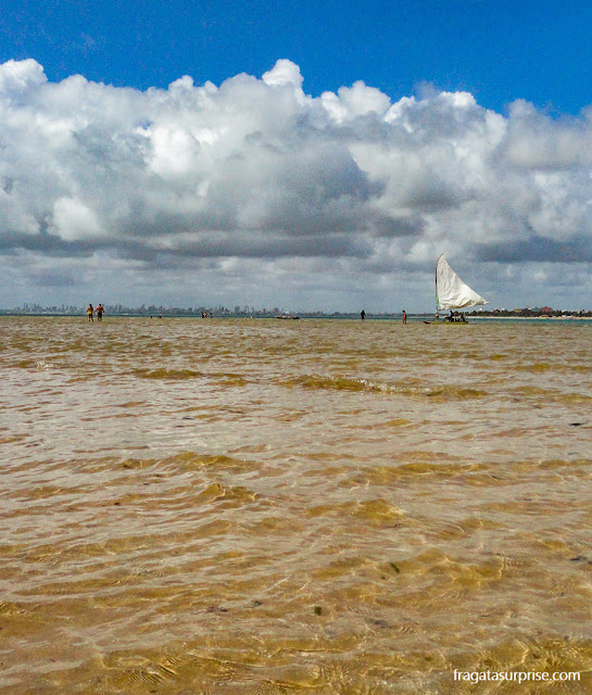 Praia de Areia Vermelha, Cabedelo, Paraíba