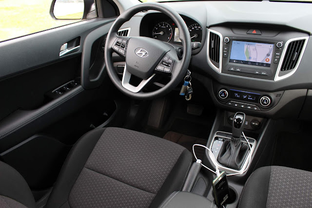 Hyundai Creta Pulse Plus 1.6 A/T 2019 - acabamento interno
