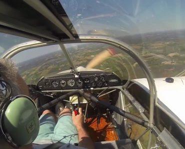 Un avion perd son hélice en plein vol