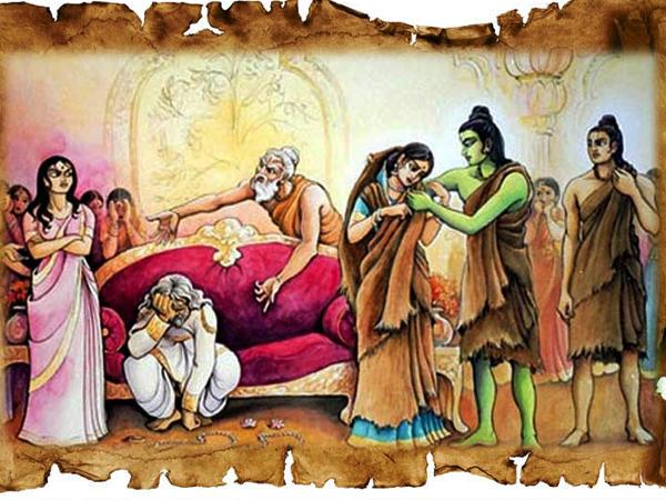 Ramayana Chapter 8-Dhasaratha in Grief