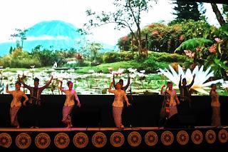 perayaan natal & kunci taong kerukunan keluarga kawanua