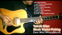 Belajar Picking Gitar Dan Teknik Dasar Picking