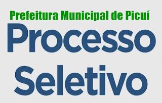 Prefeitura de Picuí divulga resultado do processo seletivo 001/2017