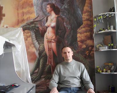 Роспись стен Волгоград - Алексей Захаров