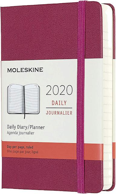 agenda 2020 giornaliera Moleskine