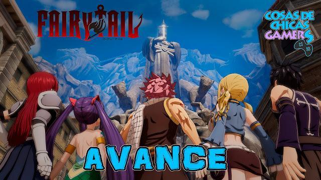 Avance Fairy Tail, el videojuego