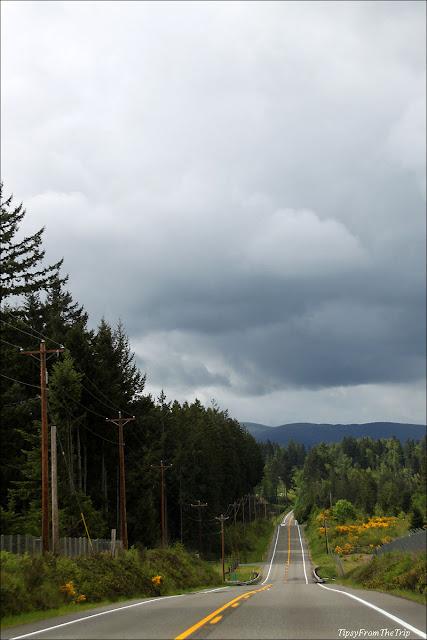 The scenic route to Mt.Rainier National Park, WA