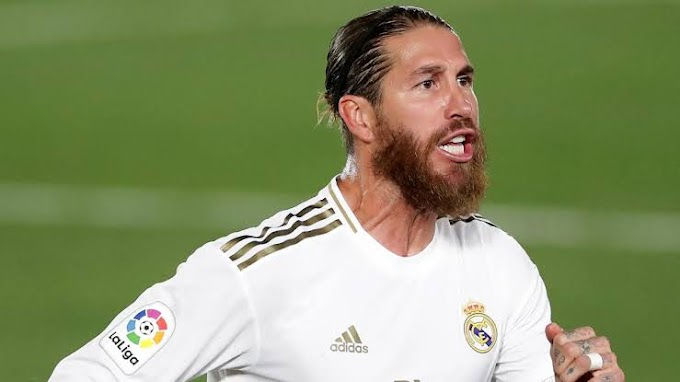 I want to play out career here - Madrid captain Ramos