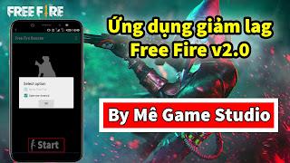 Ứng dụng giảm lag free fire