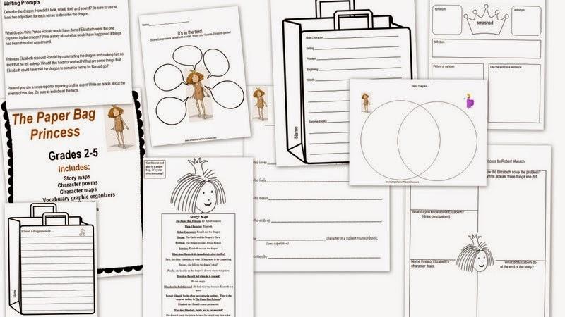 A Teacher without a Class: Paper Bag Princess!