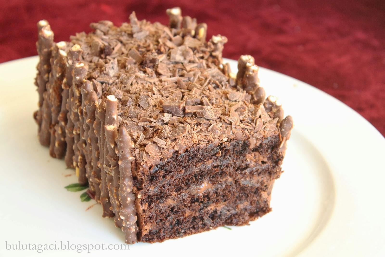 Çikolatalı Kayısılı Pasta