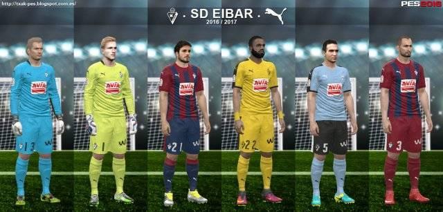 PES 2016 SD Eibar Kit Season 2016-2017