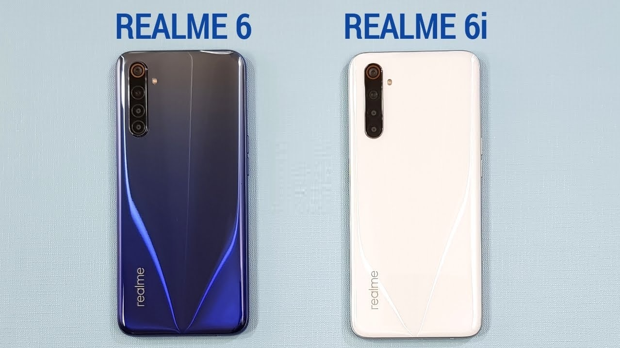 Realme 6 and Realme 6i security update