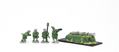 Artillery - Crew x 4 / Emplaced gun