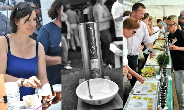 Oliandi Olivenölfest von zait mit Olivenölverkostung