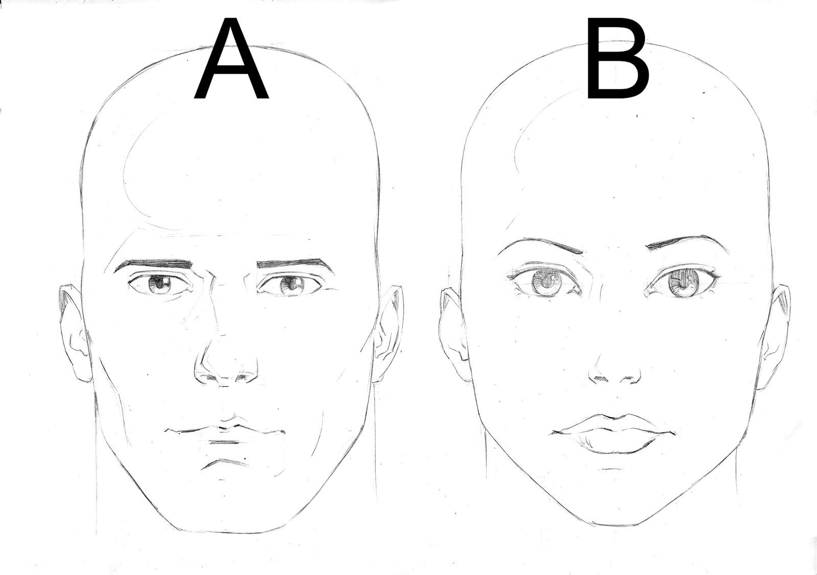 Rostos Desenhos: Algo Sobre Desenho