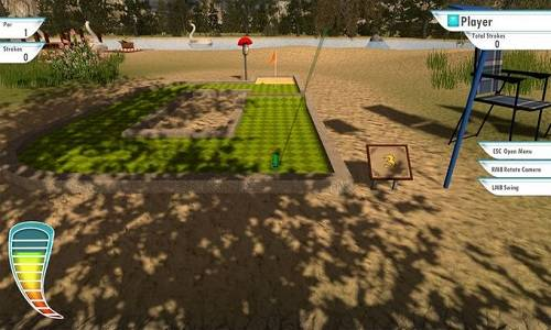 3D MiniGolf Game Free Download
