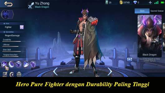 Hero Pure Fighter dengan Durability Paling Tinggi