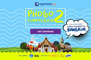 Cuma Upload Photo bisa liburan GRATIS ?