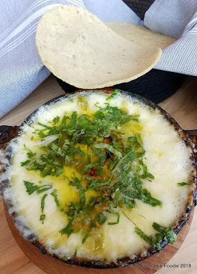 ATX Cocina queso fundido + tortillas