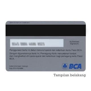 Jual kartu e-money / e-toll Flazz BCA . kartu e-toll american express