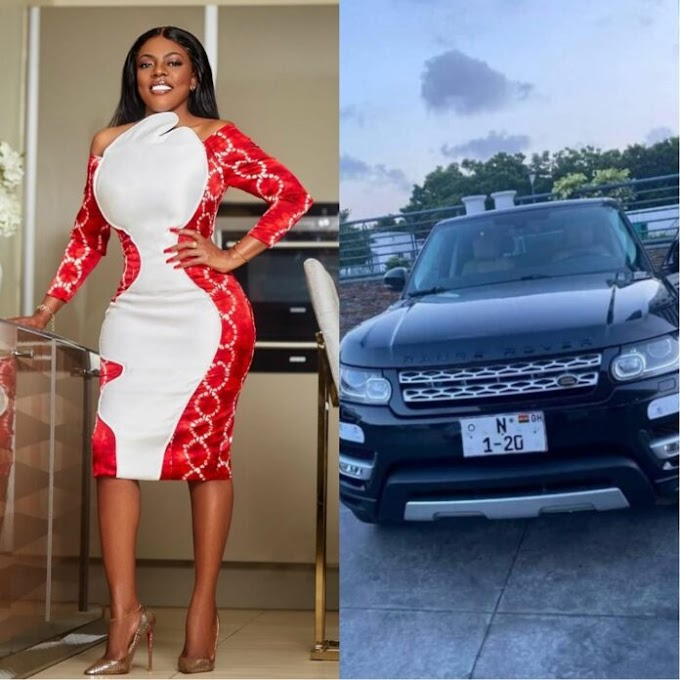 I personally reported fake number plate to police – Nana Aba Anamoah