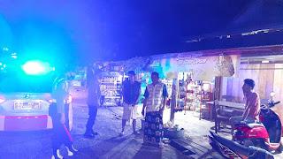Antisipasi Kejahatan, Polsek Tanasitolo Polres Wajo Gencar Laksanakan Patroli Malam Hari