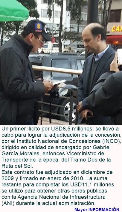 Corrupción en caso Odebrecht: Capturado ex viceministro Gabriel García Morales