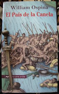 Portada del libro El país de la canela, de William Ospina