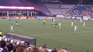from a recent NE Revs game