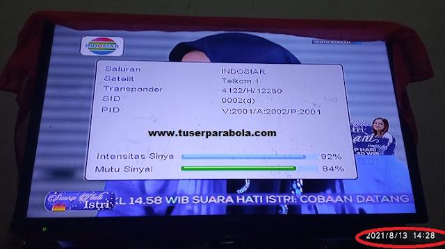 Frekuensi Terbaru SCTV dan INDOSIAR 2021