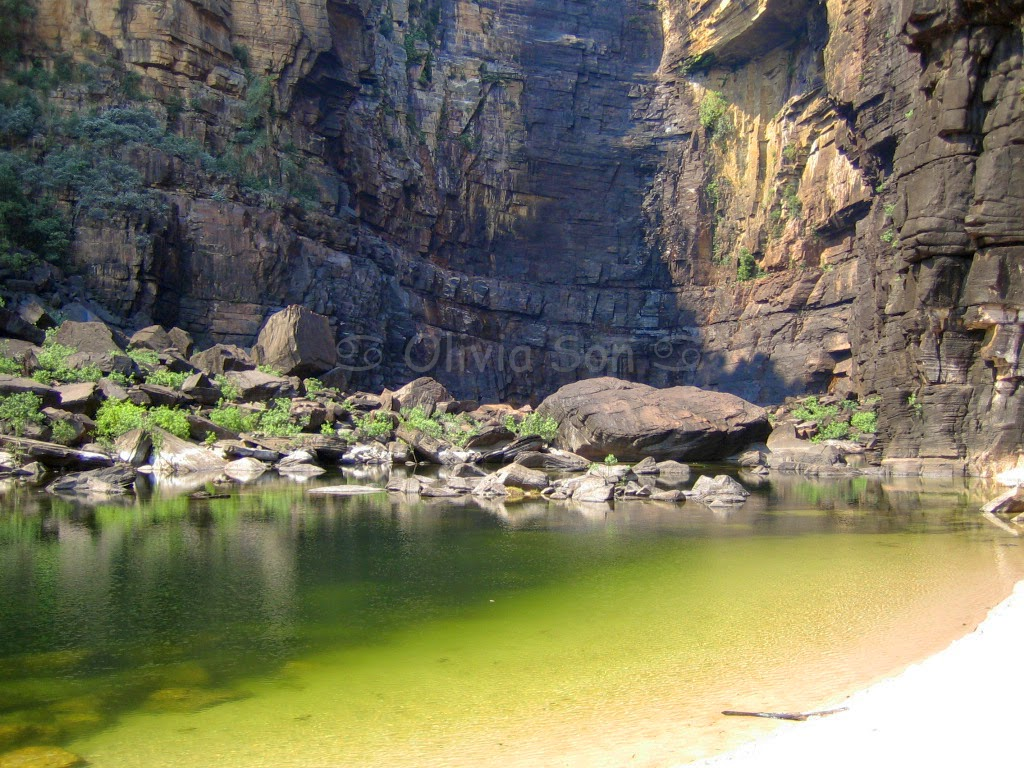 Jim Jim Falls, Kakadu National Park, Northern Territory, Australie