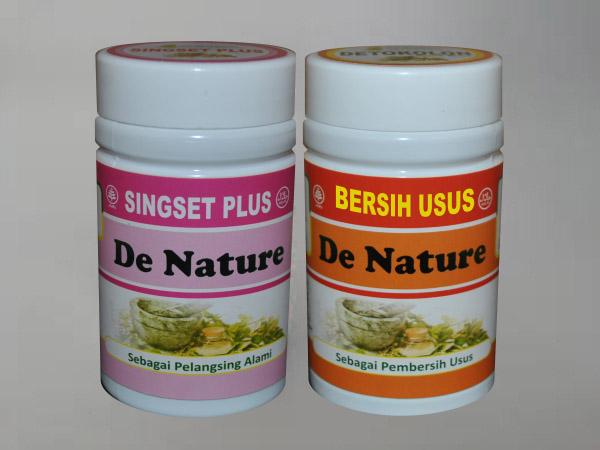 Obat Mengecilkan Perut Buncit Herbal de Nature