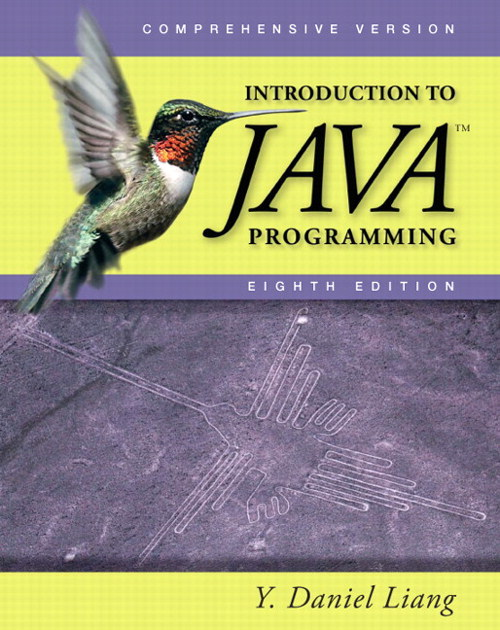 introduction to java programming by y daniel liang solution manual